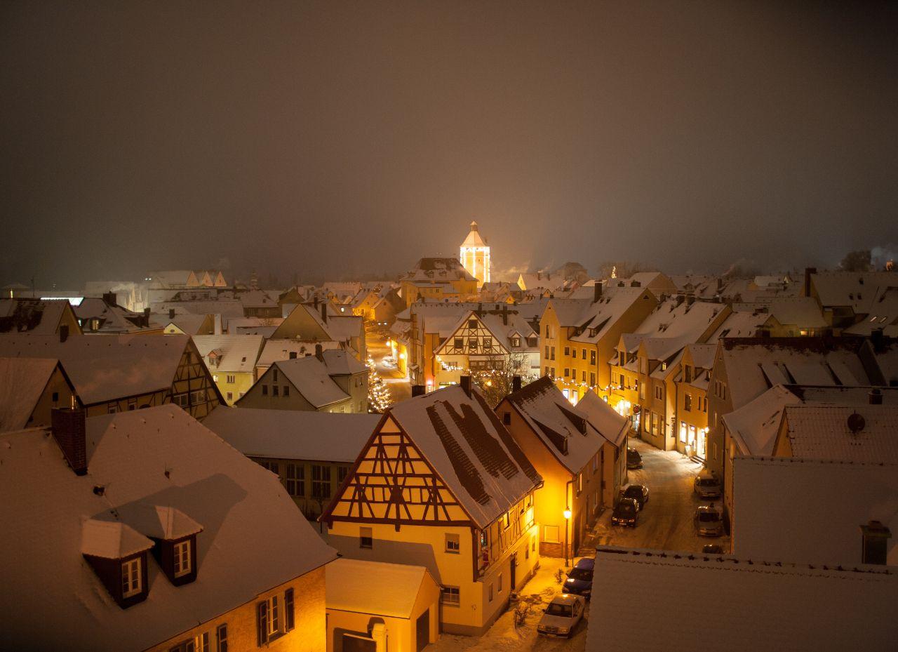 Romantischer Weihnachtsmarkt.Weihnachtsmarkt Gunzenhausen Romantischer Weihnachtsmarkt In